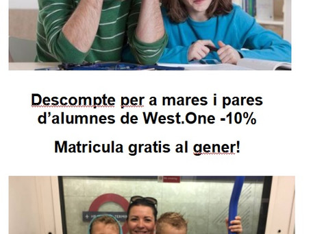 English for families at West One!
