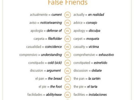 False friends