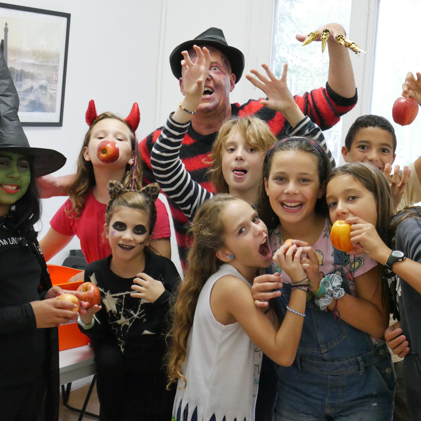 West One Halloween party