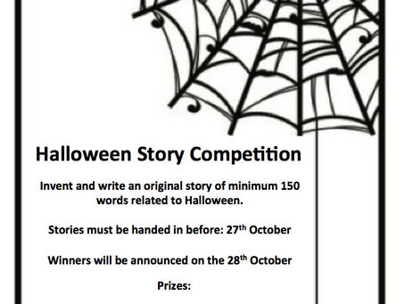 Halloween Story Competition 2016
