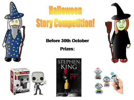 Halloween story competition!