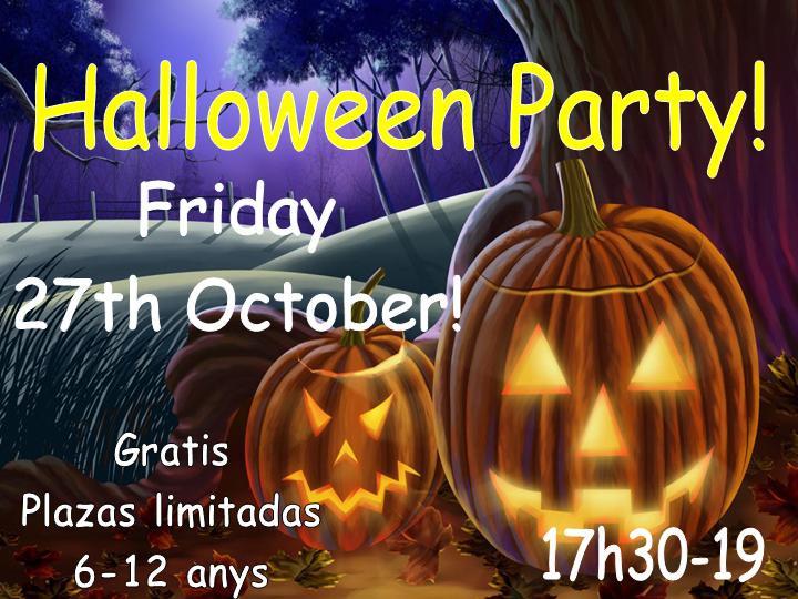 Fiesta de Halloween en inglés para niños