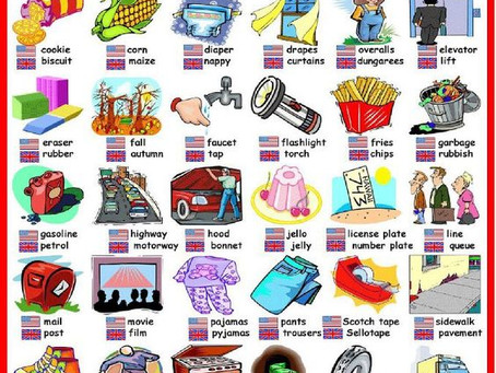 Is American English different to British?