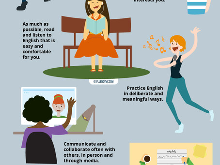 How to practise your English outside of the classroom