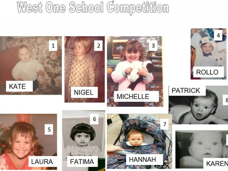 The answers to our baby competition