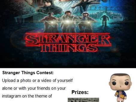Stranger things competition!