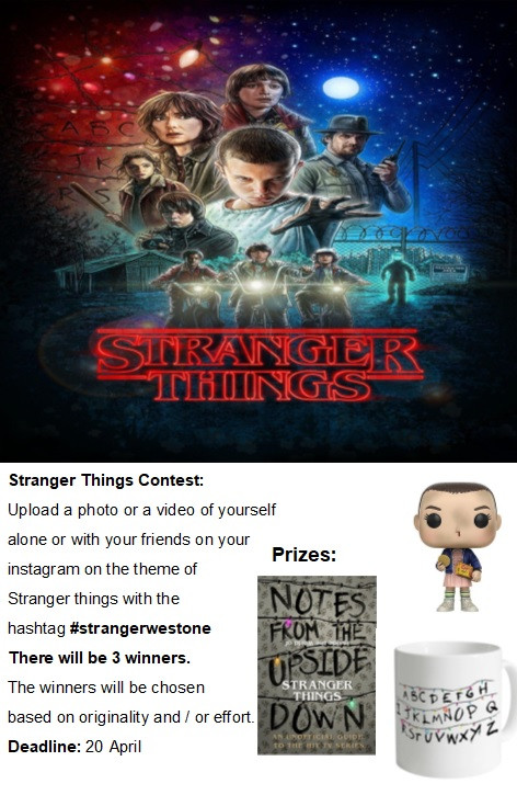 Stranger things competition