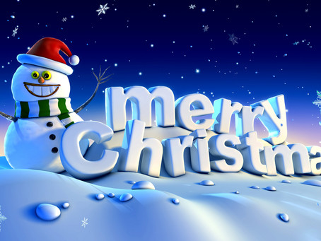 Merry Christmas from West One! See you on 8th January!