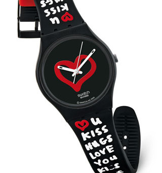 Valentine's competition: 1st: Marta Cuquerella has won a Swatch watch! Other special prizes: Pol