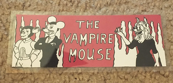 The Vampire Mouse Bookmark