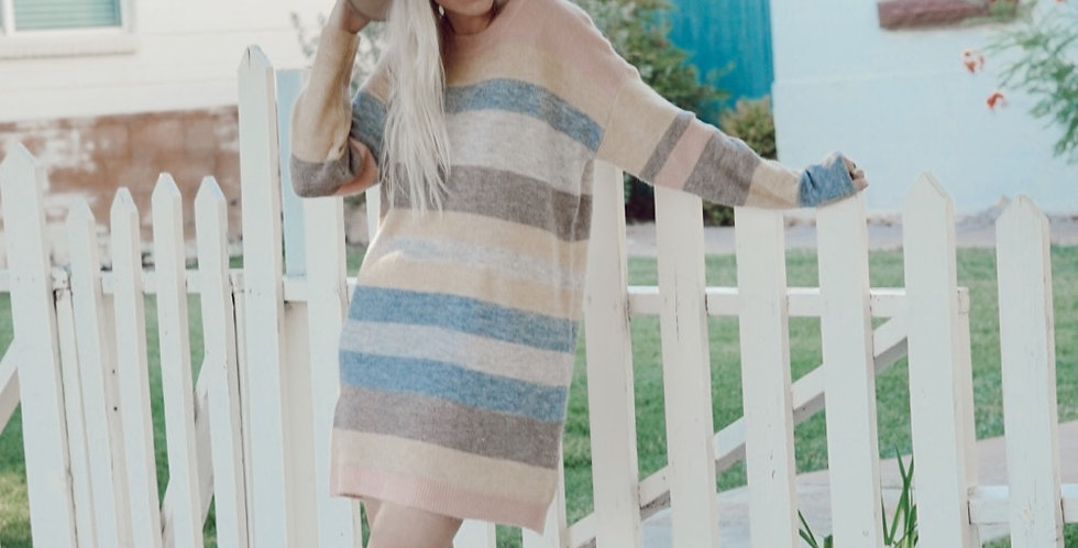 Melange Sweater Dress