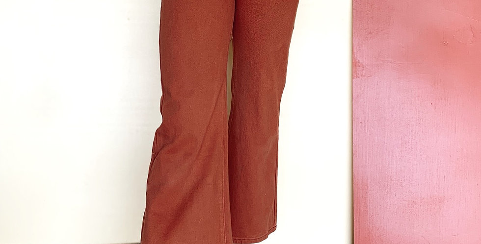 Wild honey  cropped flare jeans