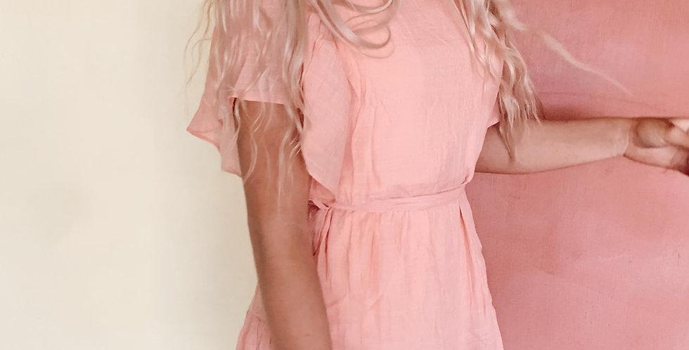 Peach please dress