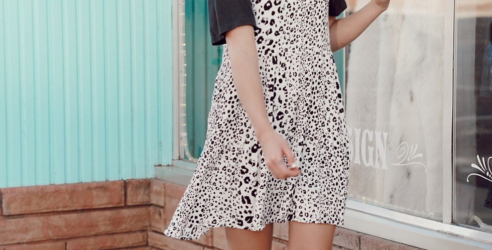 Leopard like my soul dress