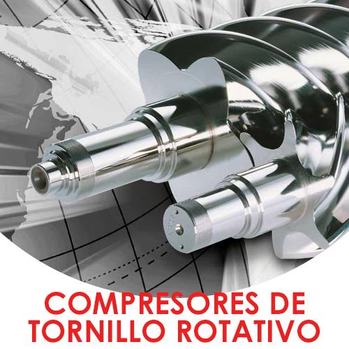 Compresores de tornillo rotativo