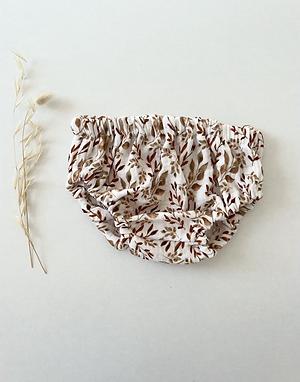 Bloomer bébé Gaze de coton biologique «Feuillage d'automne»