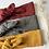 """Thumbnail: Bandeau/chouchou gaze de coton  """"Broderie """"(modèles au choix)"""
