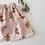 """Thumbnail: Jupe bébé/fille gaze de coton """" Charmille Nude """""""