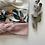 """Thumbnail: Bandeau/chouchou  bébé/fille/femme """"Fleur d'oranger"""""""