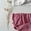 "Thumbnail: Bloomer bébé/fille  ""Vichy rouge & blanc"""
