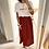 """Thumbnail: Jupe Femme Gaze de coton """"Terracotta"""""""
