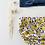 """Thumbnail: Bloomer bébé/fille gaze de coton biologique """"Lemon blue"""""""