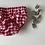 """Thumbnail: Bloomer bébé/fille  """"Vichy rouge"""""""