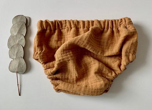 "Bloomer bébé Gaze de coton ""Camel"""