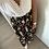 Thumbnail: Jupe Femme gaze de coton biologique «Aquarelle noire»