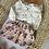 """Thumbnail: Jupe bébé/fille gaze de coton bio """"Summer bloom"""""""