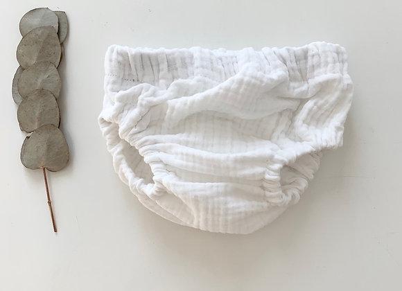 """Bloomer bébé Gaze de coton """"Blanc"""""""
