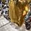 """Thumbnail: Bloomer bébé gaze de coton/pois dorés  """"Moutarde"""""""