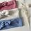 """Thumbnail: Bandeau/chouchou coton """"Vichy """"(modèles au choix)"""