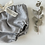 "Thumbnail: Bloomer bébé jersey bio   ""Gris chiné"""