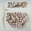 Thumbnail: Bloomer bébé Gaze de coton biologique «Feuillage d'automne»