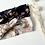 """Thumbnail: Bandeau/chouchou gaze de coton bio """"Aquarelle """"(modèles au choix)"""