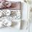 """Thumbnail: Bandeau/chouchou Jersey """"Fleurs acidulées"""""""