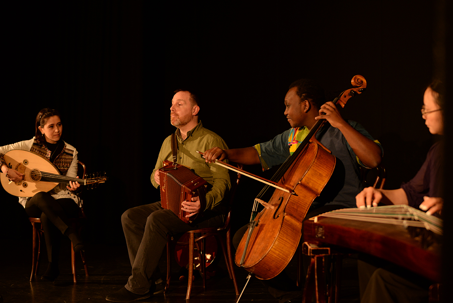 Kaleidoscope Quartet, England Tour