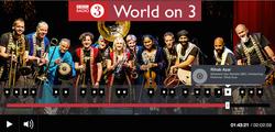 BBC Radio3, May 2017