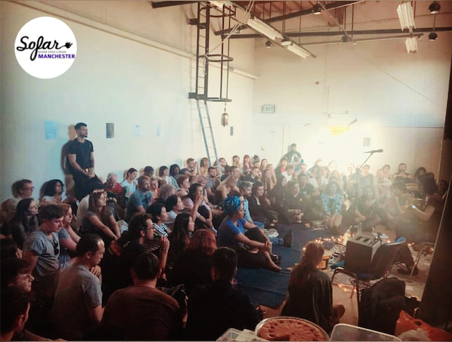 Sofar Sounds, Manchester, June 2018
