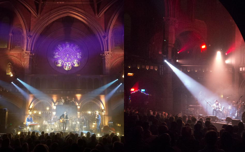 Union Chapel, London, February 2018