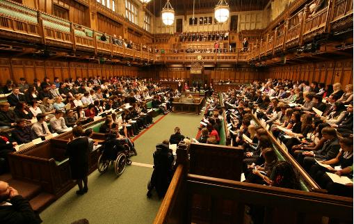 Chambre des Communes, UK