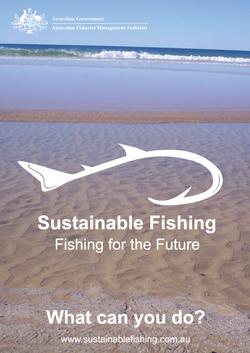 Logo de Pêche Durable Australie