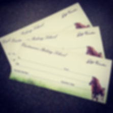 New gift vouchers have arrived! There wi