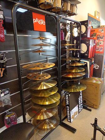 Cymbales Paiste Albaynac Musique