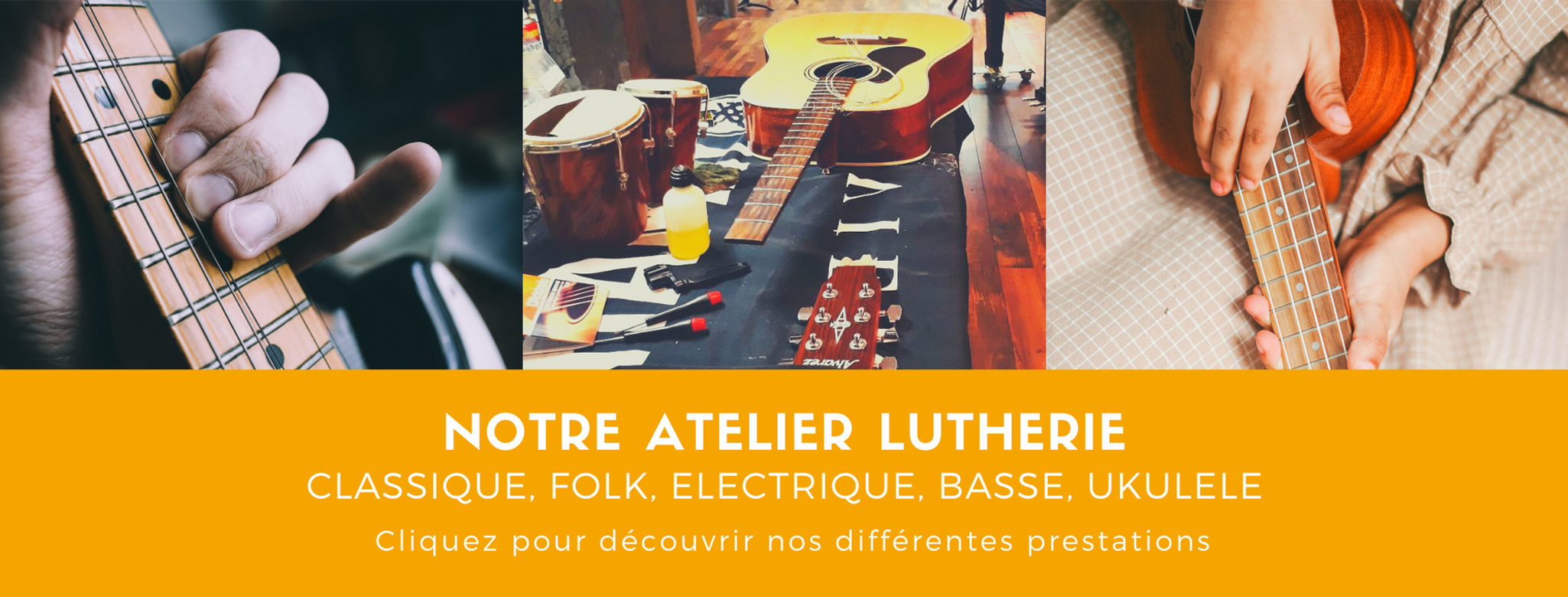 NOTRE ATELIER LUTHERIE