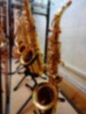 saxophones albaynac musique