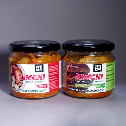 Kimchi 2x Jar Mix - Mellow/Intense