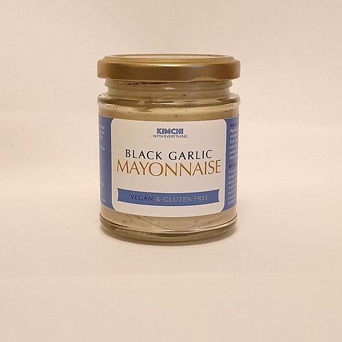 Black Garlic Vegan Mayo