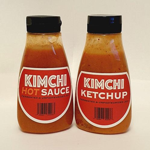 2x KIMCHI SAUCES (Ketchup & Hot)